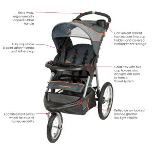 baby trend expedition jogger stroller specifications