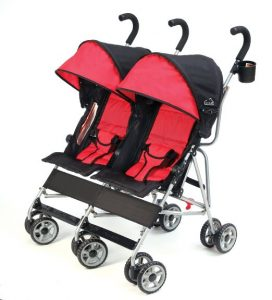 best lightweight side by side double umbrella stroller