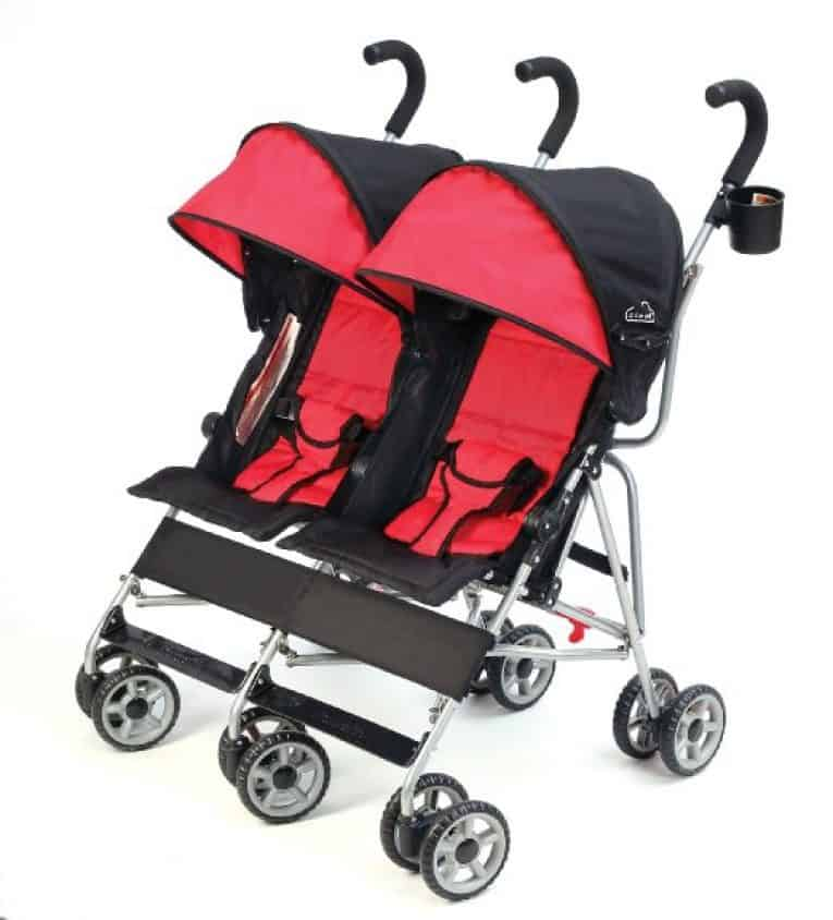 best lightweight side by side umbrella stroller