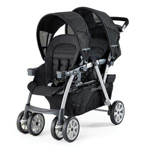 chicco double stroller review - cortina together