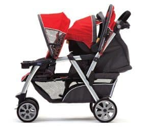 chicco double stroller review