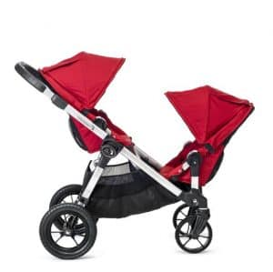 City select tandem stroller - front facing