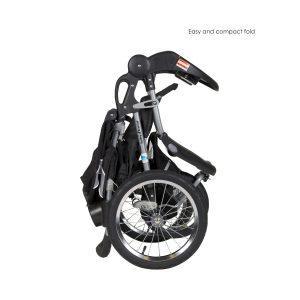 cheap foldup jogging stroller- baby trend
