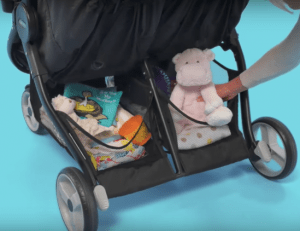 Graco double pram - duo storage