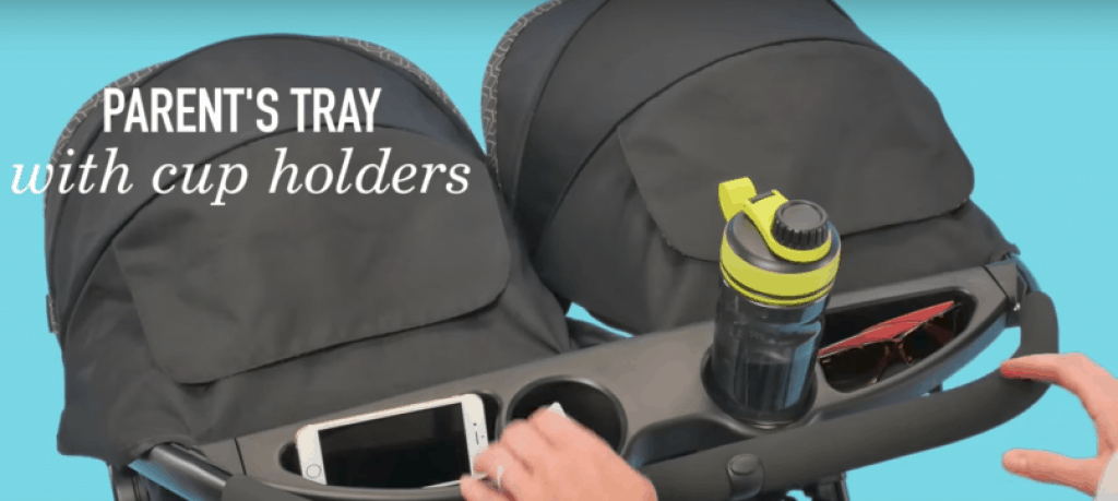 graco fastaction duo - best cup holders storage