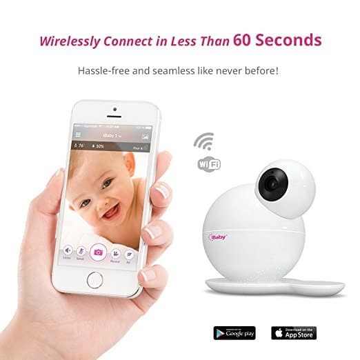 ibaby monitor video 6s app review wise mamma. Black Bedroom Furniture Sets. Home Design Ideas