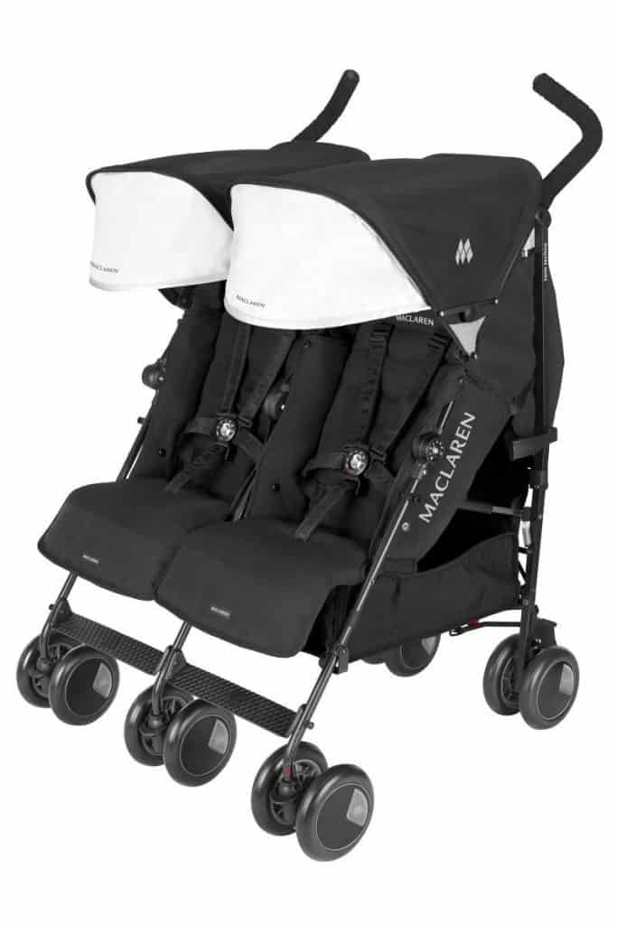 maclaren double umbrella stroller