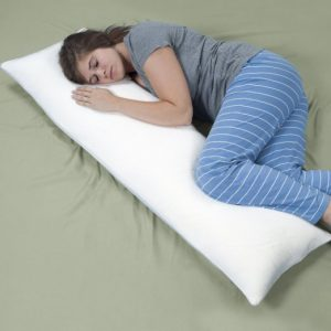 memory foam body pillow - remedy complete
