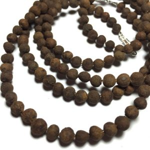 make an allspice teething necklace