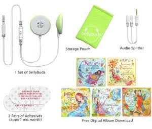 bellybuds baby music player
