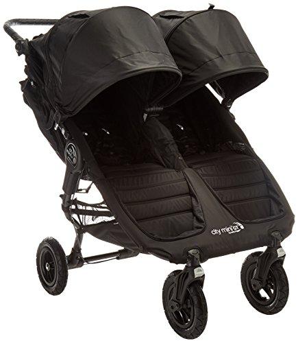 Baby Jogger 2016 City Mini GT Double Stroller - Black/Black
