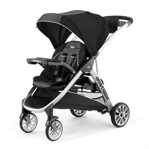 Chicco double stroller sit and stand bravofor2