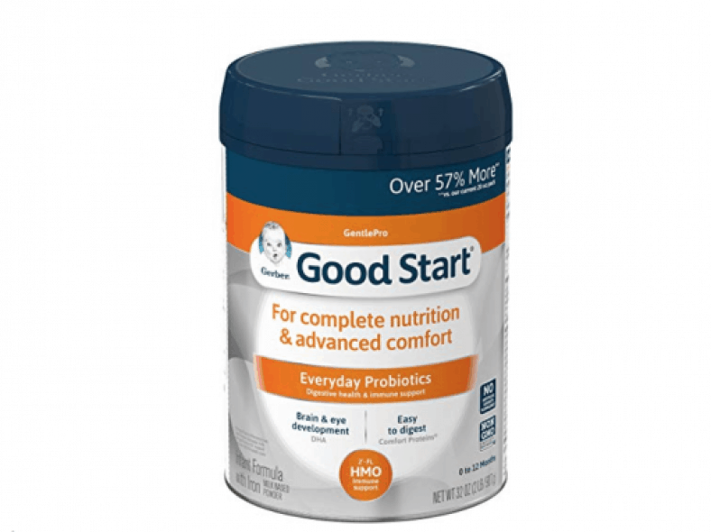 Gerber Good Start Gentle formula review