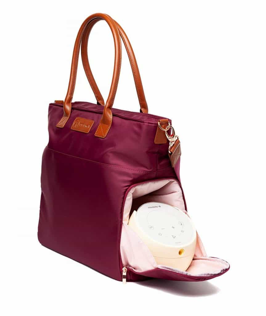 Sarah wells breast pump bag for working moms