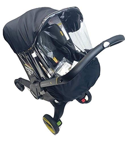 Sasha's Rain and Wind Cover for Doona Infant Car Seat