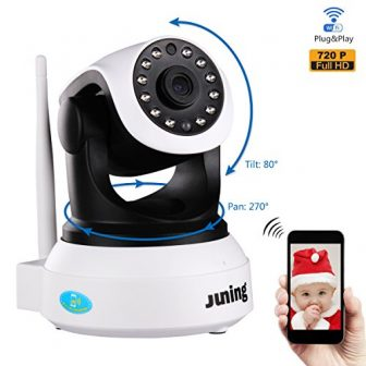 Baby Wireless Security Camera with Phone/Tablet viewing (Juning)