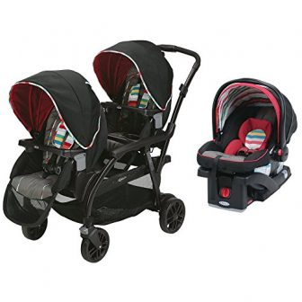 Graco Duo & SnugRide Car Seat - Most versatile stroller